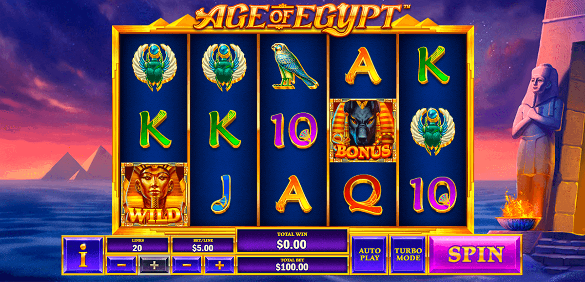 age of egypt playtech pacanele