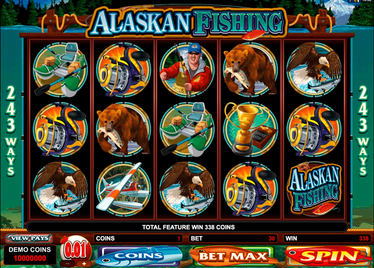 alaskan fishing microgaming pacanele