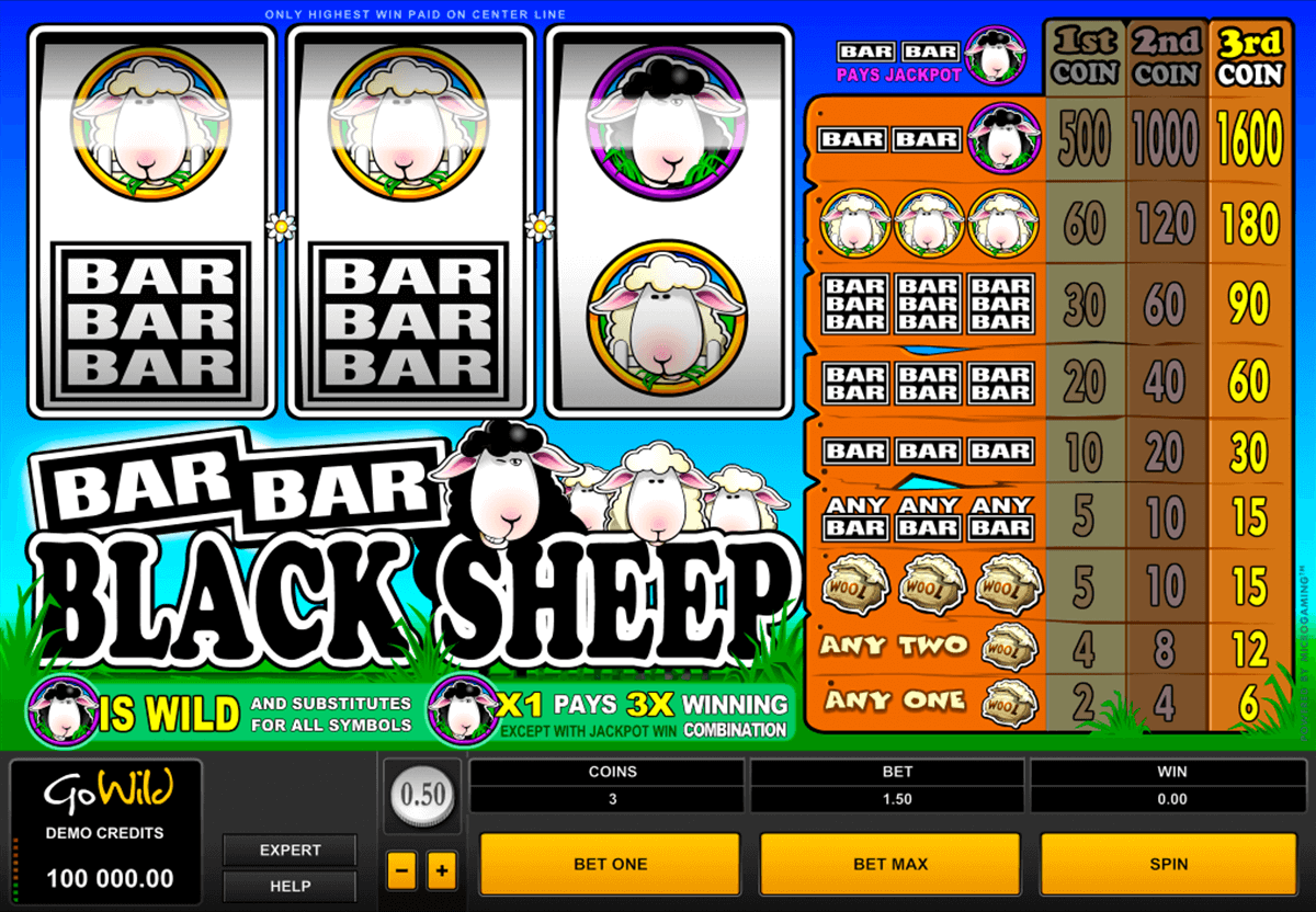barbarblack sheep microgaming pacanele
