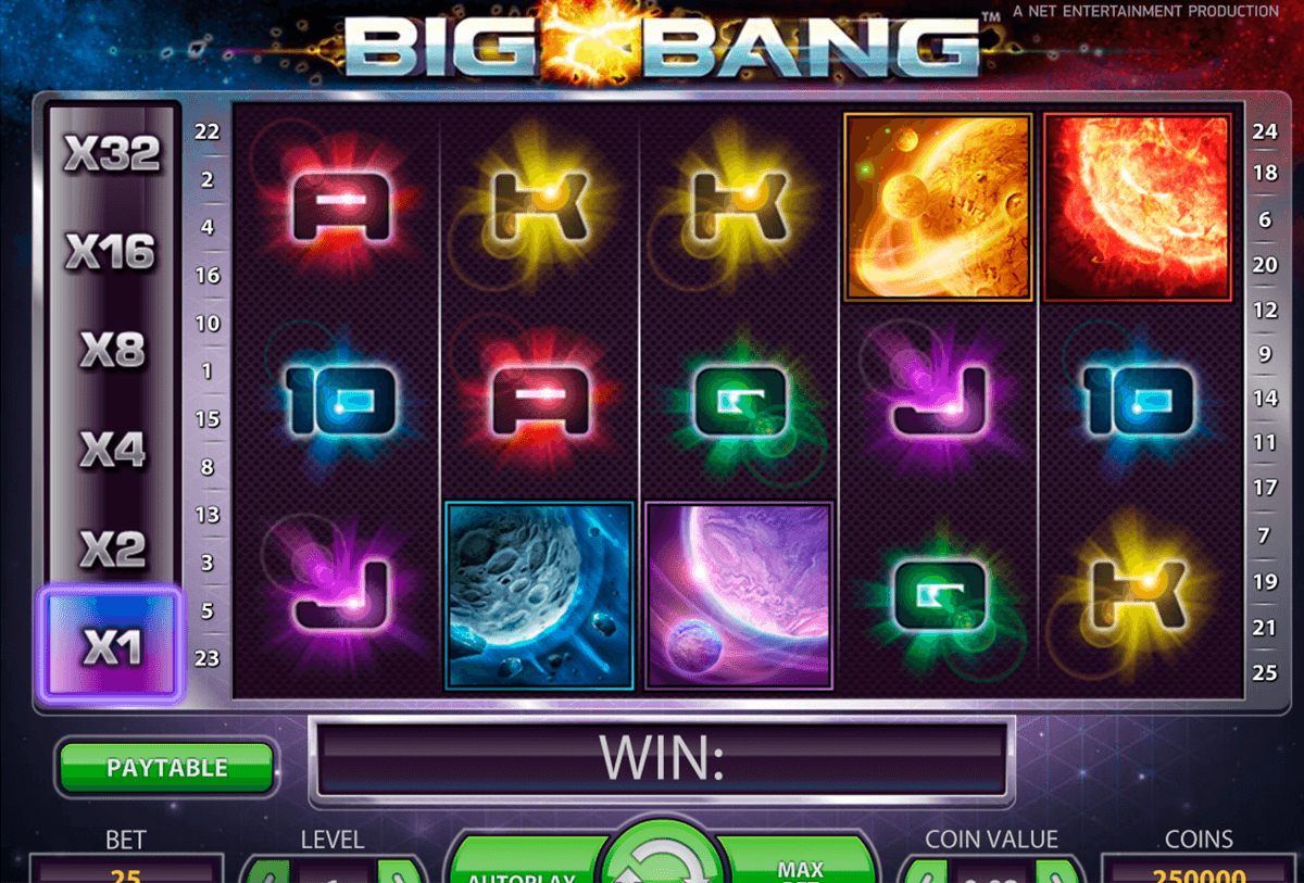 big bang netent pacanele