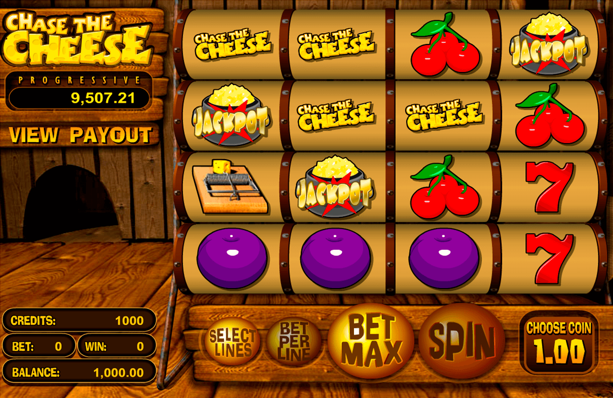 chase the cheese betsoft pacanele