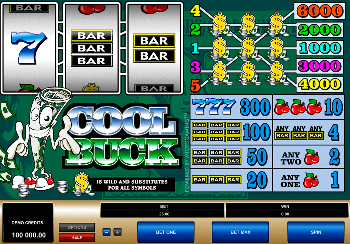 cool buck microgaming pacanele