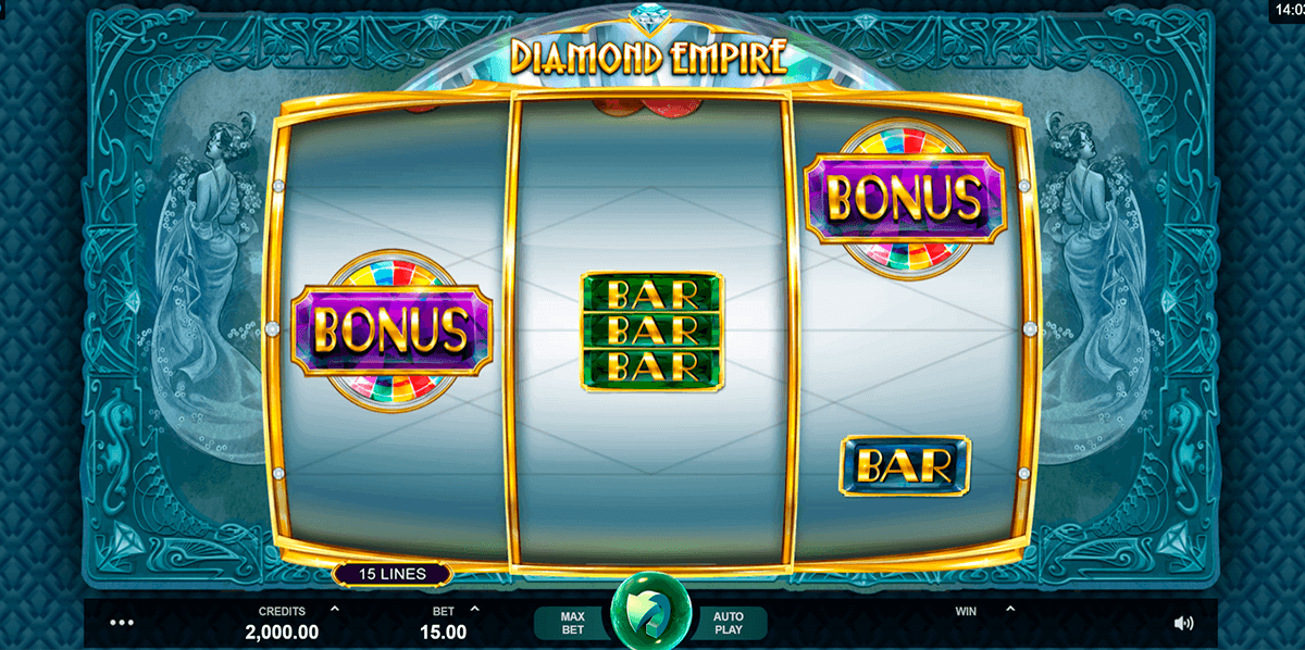 diamond empire microgaming pacanele