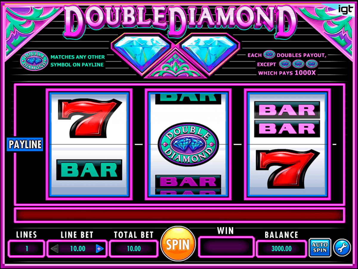 double diamond igt pacanele