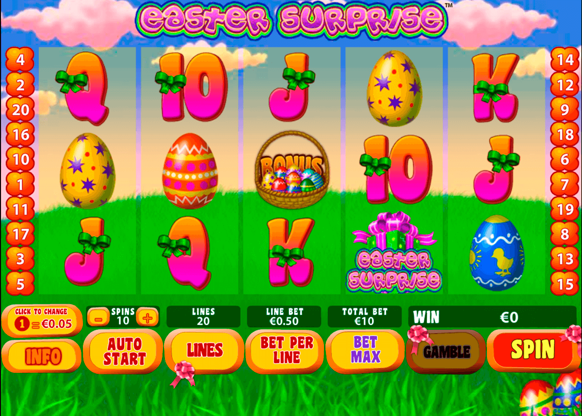 easter surprise playtech pacanele