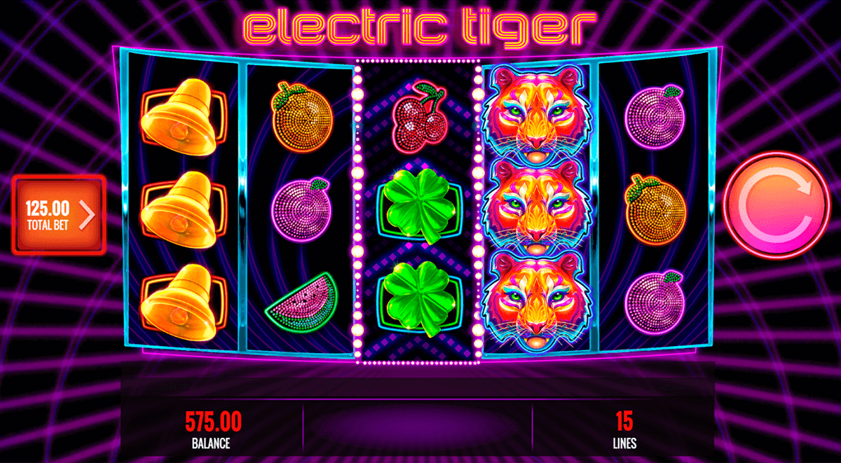 electric tiger igt pacanele