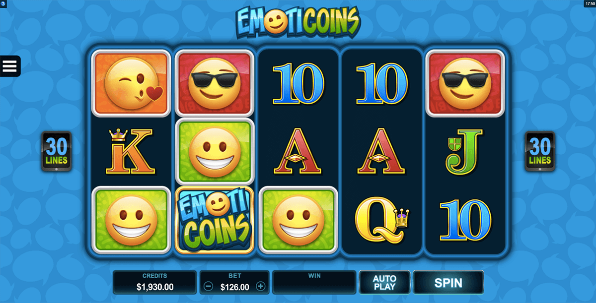 emoticoins microgaming pacanele