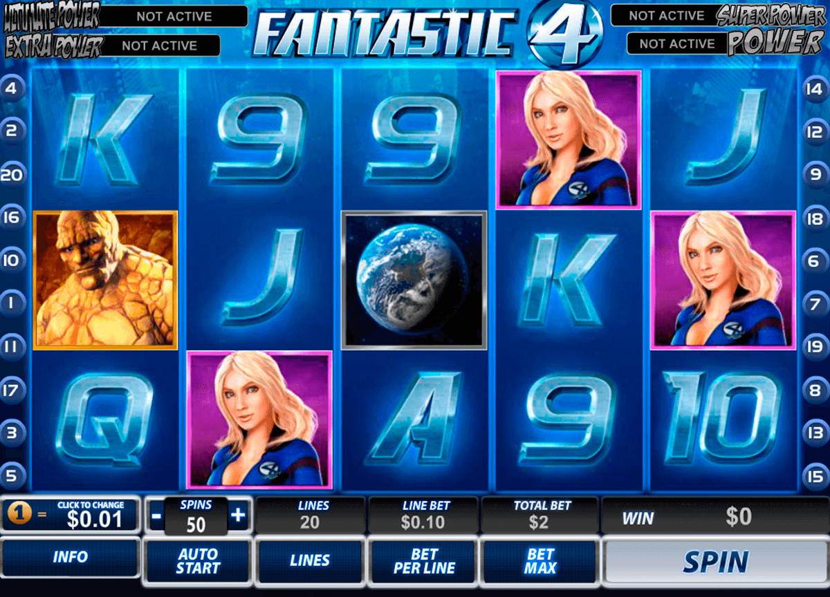 fantastic four playtech pacanele