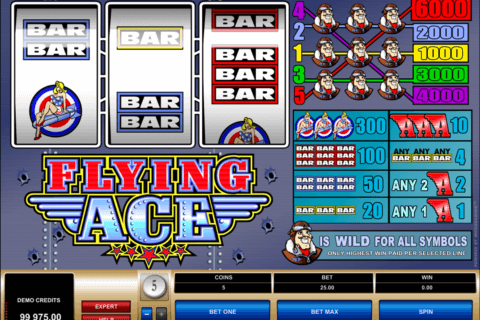 flying ace microgaming pacanele