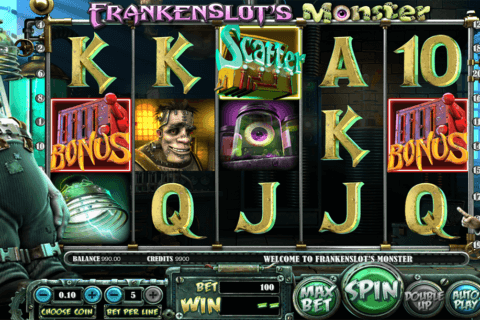 frankenslots monster betsoft pacanele