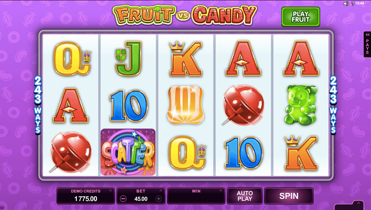 fruit vs candy microgaming pacanele
