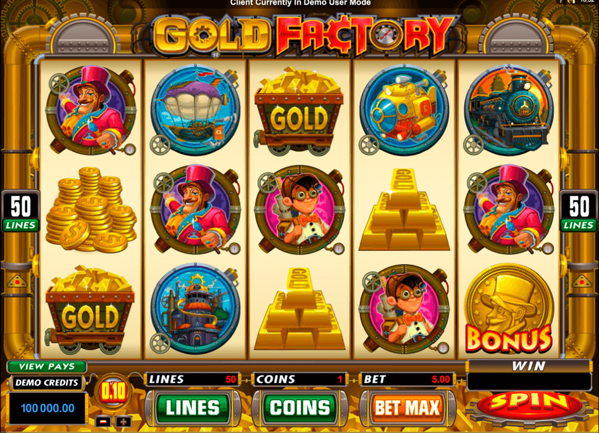 gold factory microgaming pacanele