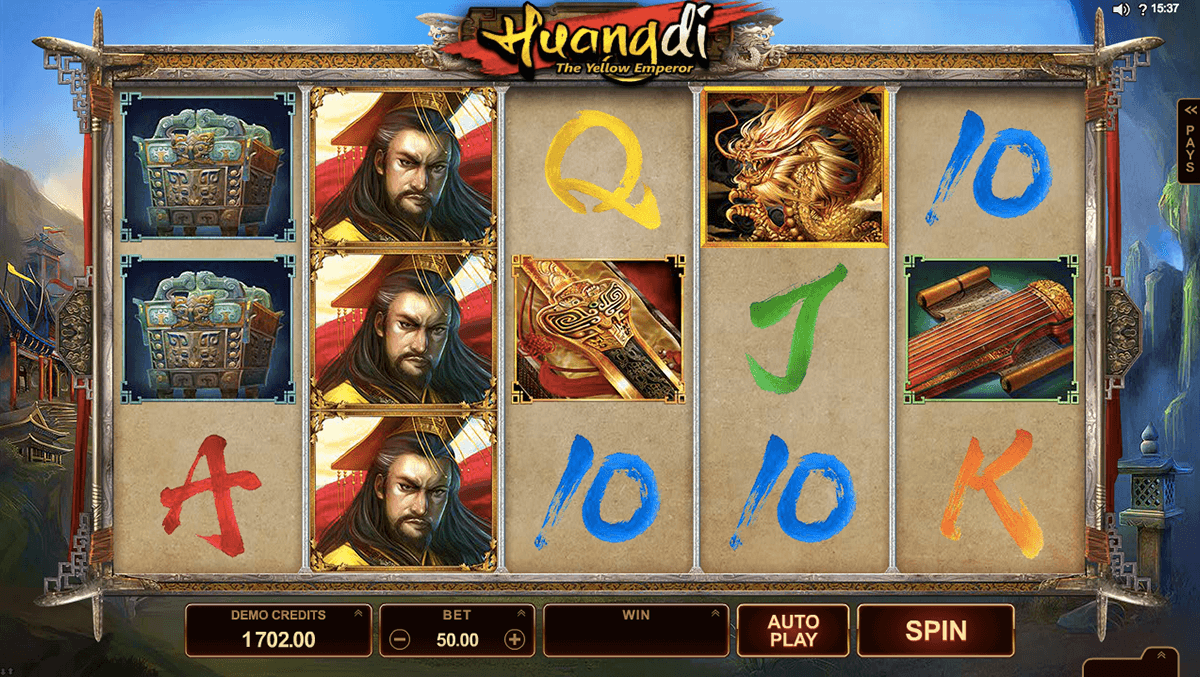 huangdi the yellow emperor microgaming pacanele