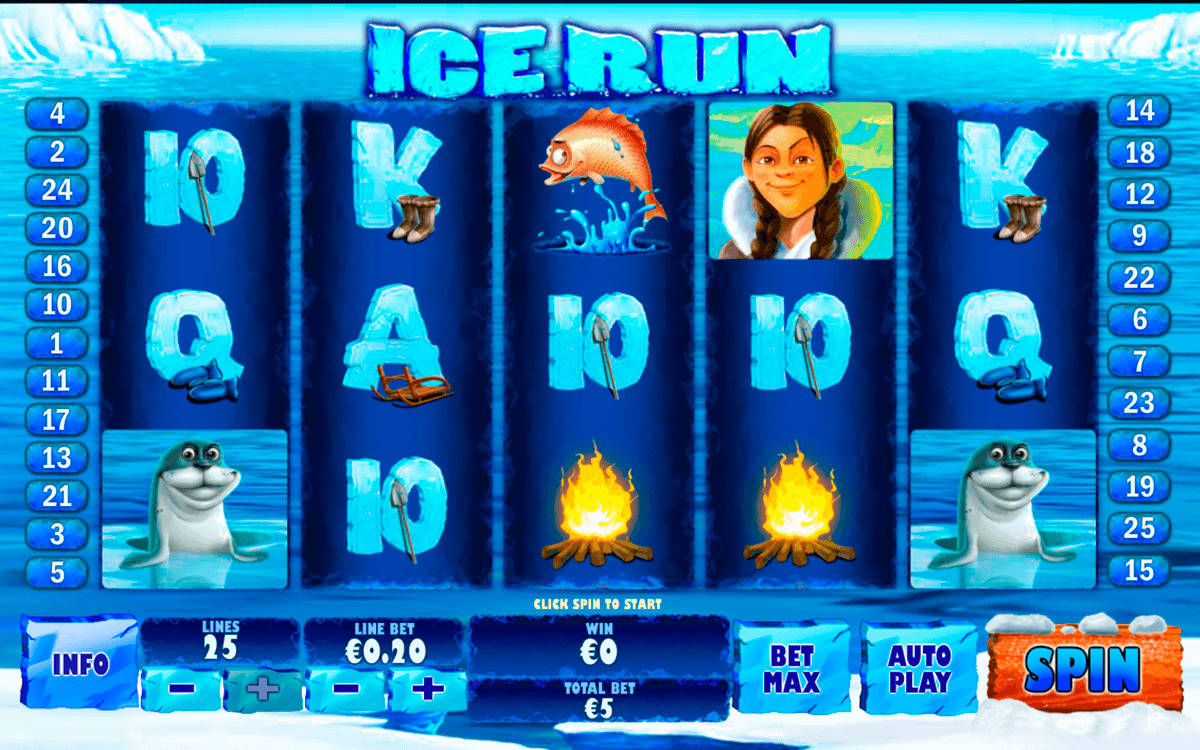 ice run playtech pacanele