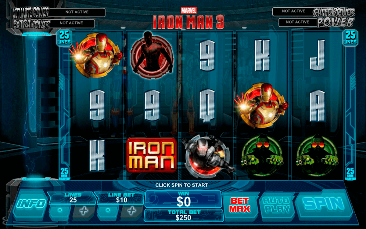 iron man 3 playtech pacanele
