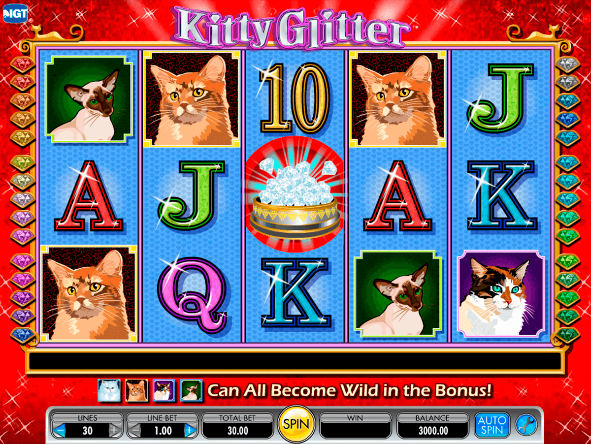 kitty glitter igt pacanele