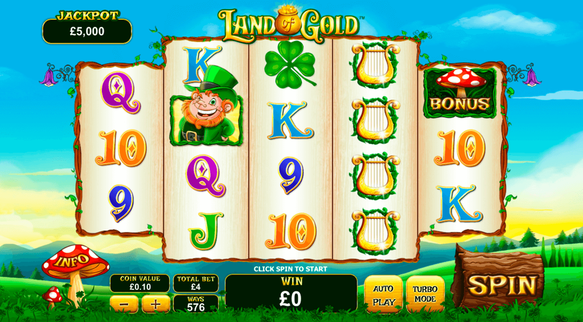 land of gold playtech pacanele