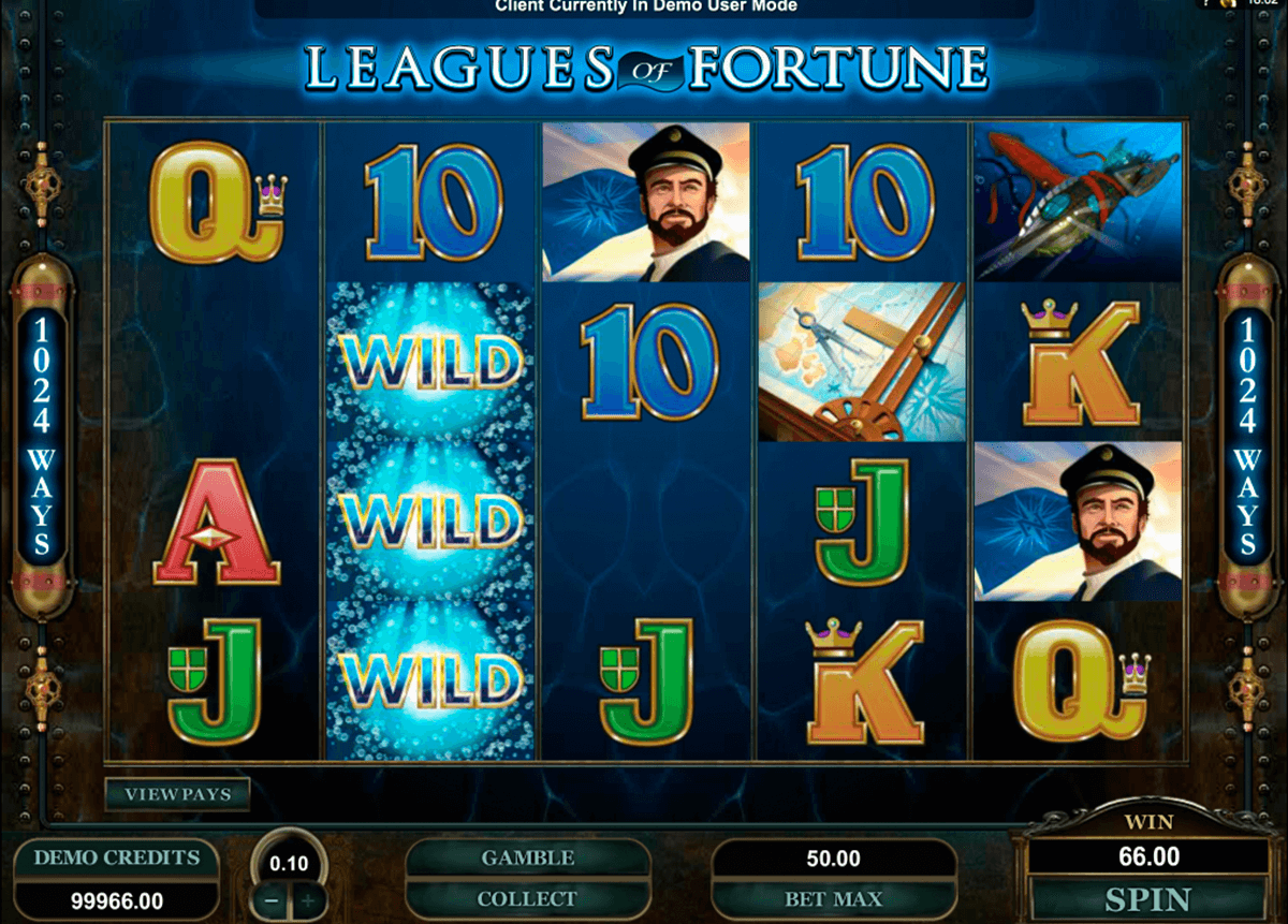 leagues of fortune microgaming pacanele