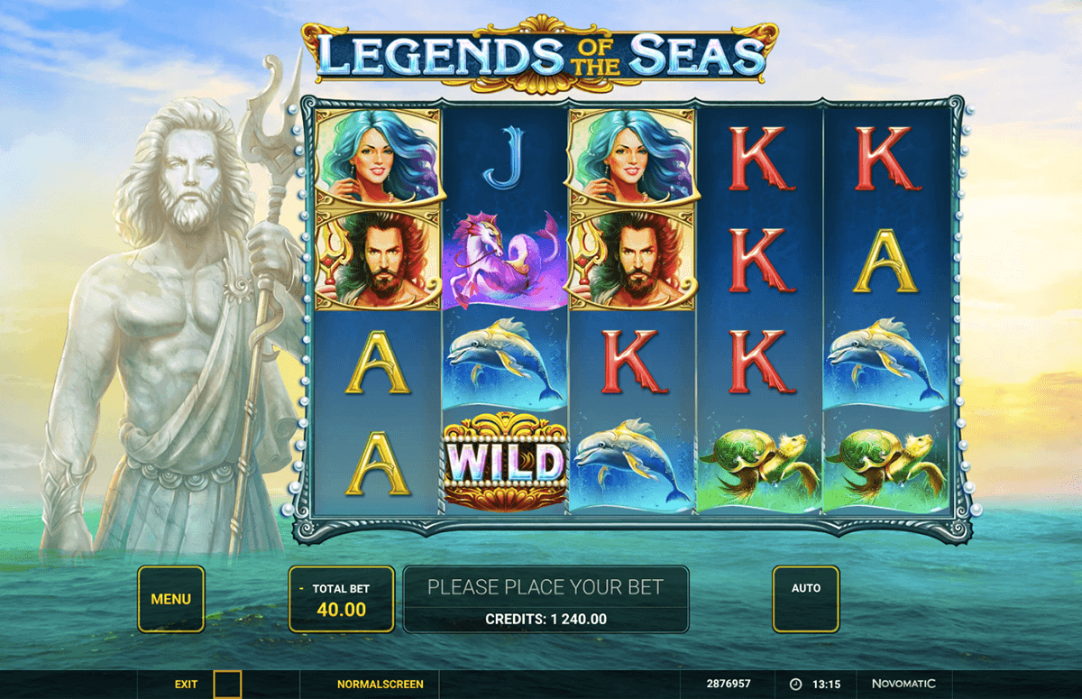 legends of the seas novomatic pacanele