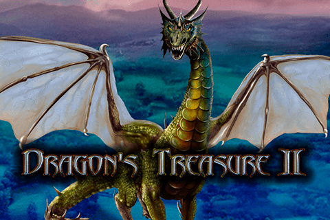 logo dragons treasure ii merkur