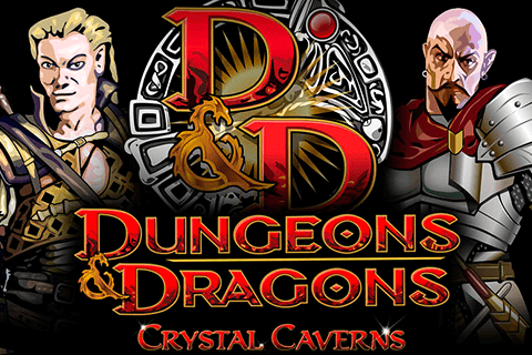 logo dungeons and dragons crystal caverns igt