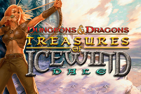 logo dungeons and dragons treasures of icewind dale igt