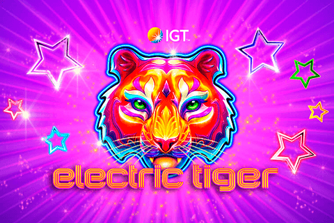 logo electric tiger igt