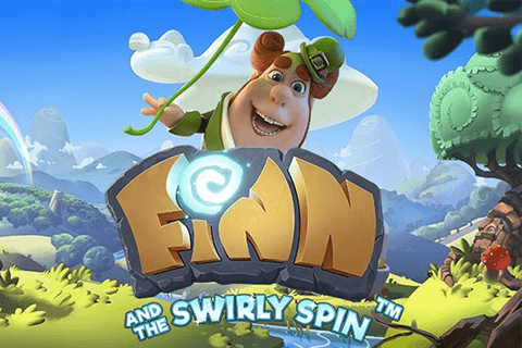 logo finn and the swirly spin netent