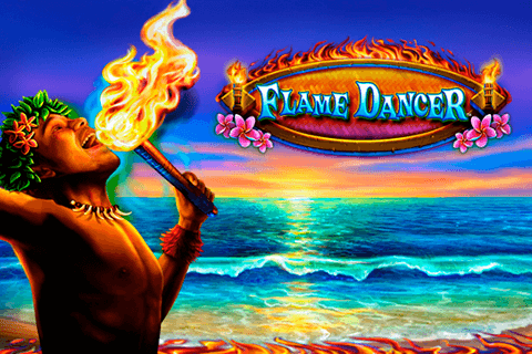 logo flame dancer novomatic
