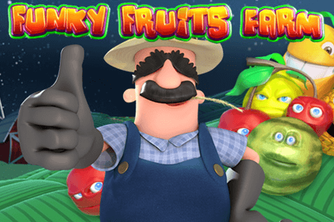 logo funky fruits farm playtech