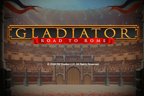 logo gladiator road to rome playtech