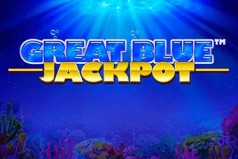 logo great blue jackpot playtech