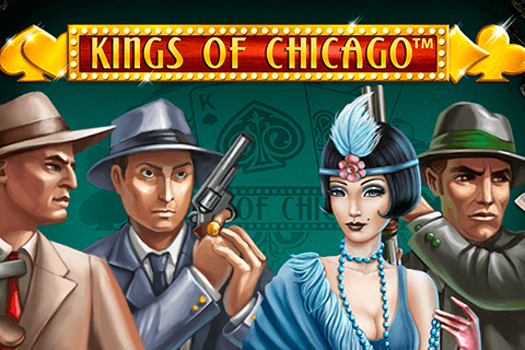 logo kings of chicago netent