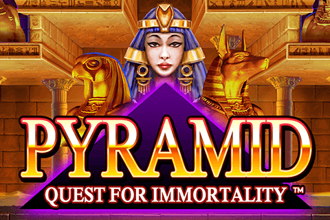 logo pyramid quest for immortality netent