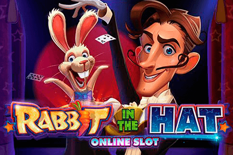 logo rabbit in the hat microgaming
