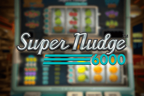 logo super nudge 6000 netent