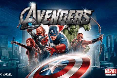 logo the avengers playtech