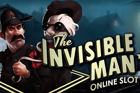 logo the invisible man netent