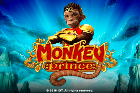 logo the monkey prince igt