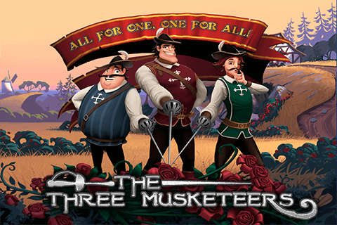 logo the three musketeers playtech