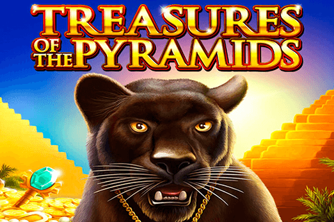 logo treasures of the pyramids igt