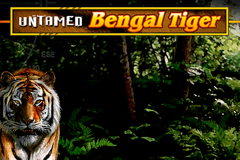 logo untamed bengal tiger microgaming