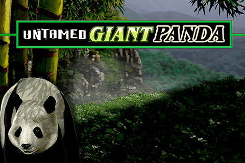 logo untamed giant panda microgaming