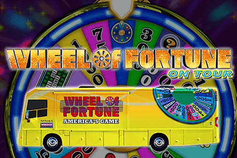 logo wheel of fortune on tour igt