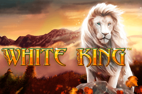 logo white king playtech