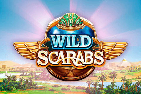 logo wild scarabs microgaming
