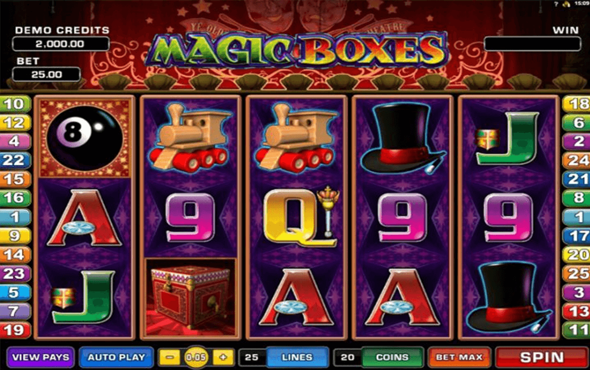 magic boxes microgaming pacanele