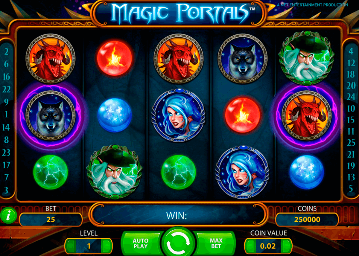 magic portals netent pacanele
