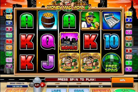 money mad monkey microgaming pacanele