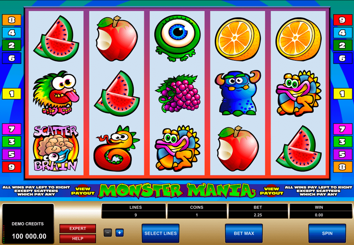 monster mania microgaming pacanele